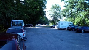 Quellental Parkplatz hinterer
