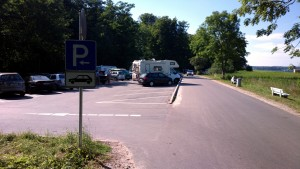 Quellental Parkplatz vorn