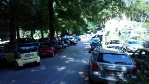 Solitüde Parkplatz 2